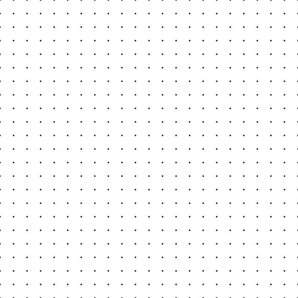 dotted grid. seamless pattern with dots. simplified matrix vector refill - spotted stock illustrations