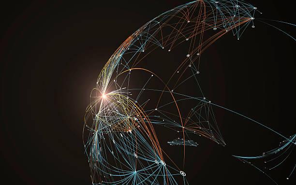 Network stock illustrations