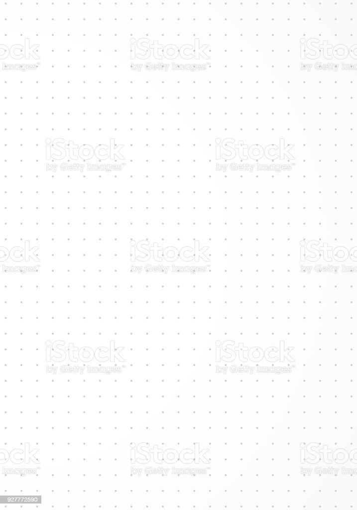 Dotted paper background. - Royalty-free Branco arte vetorial