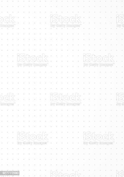 Dotted Paper Background - Arte vetorial de stock e mais imagens de Branco