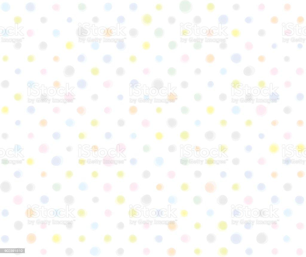 Ilustración de Patrones De Puntos Material De Fondo De Color Pastel ...
