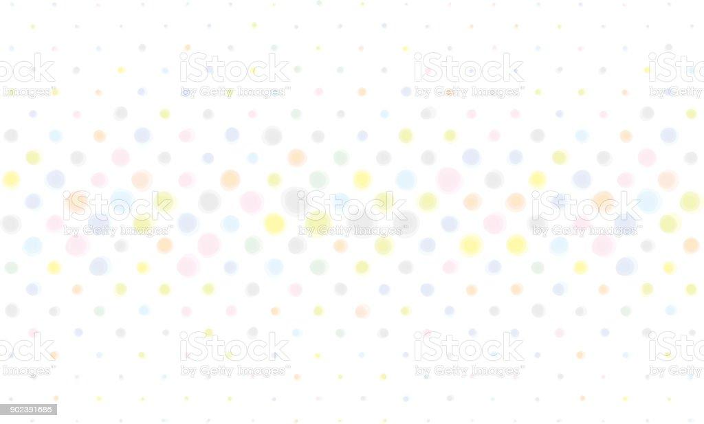 点線のパターン。 ベクターアートイラスト