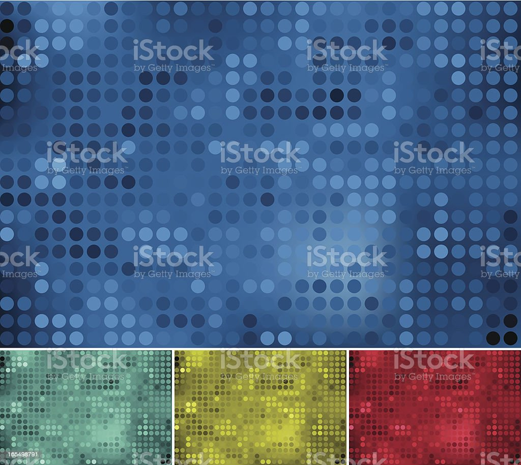 Dotty backgrounds royalty-free stock vector art