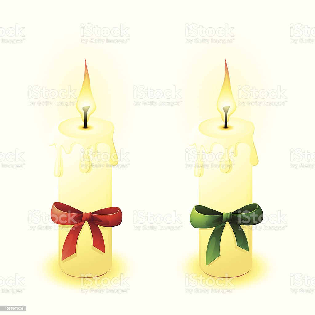 Double Advent Candle royalty-free double advent candle stock vector art & more images of advent