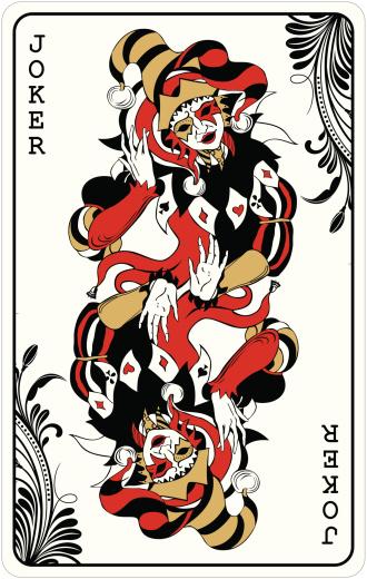 Double joker - playing card