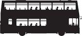A London double-decker bus.
