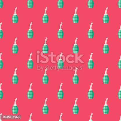 istock Douche Female Reproduction Seamless Pattern 1045162070