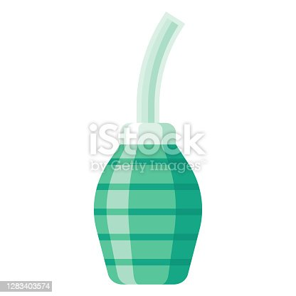 istock Douche Icon on Transparent Background 1283403574