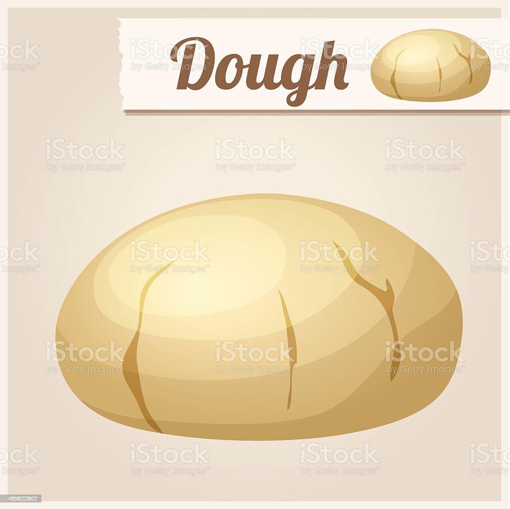 Dough. Detailed Vector Icon vector art illustration