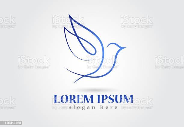 Dove bird symbol icon vector id1146341765?b=1&k=6&m=1146341765&s=612x612&h=rrx9vejc tfr7ovzyv ejqwlkkmikxzq93tevcamdic=