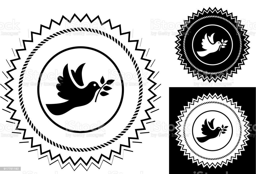 Dove Bird Symbol Of Peace Stock Vector Art More Images Of Animal
