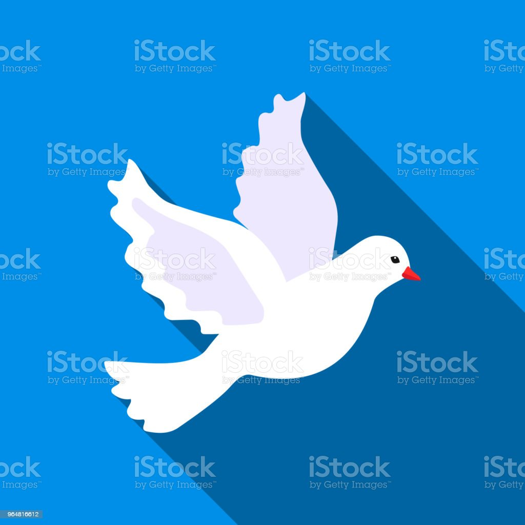 Dove icon of vector illustration for web and mobile royalty-free dove icon of vector illustration for web and mobile stock vector art & more images of animal