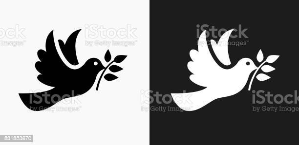 Dove icon on black and white vector backgrounds vector id831853670?b=1&k=6&m=831853670&s=612x612&h=tbmn4y3lwkikhio0exmamydjuuibcw2 3uxizpexroa=