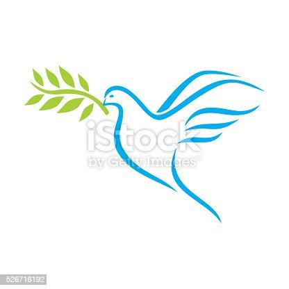 istock Dove of Peace 526716192