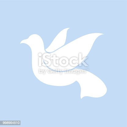 Dove Symbol Of Peace Illustration Stock Vector Art More Images Of