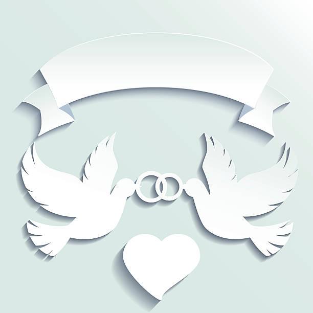Днем рождения, открытка на свадьбу своими руками голуби и кольца шаблоны фото