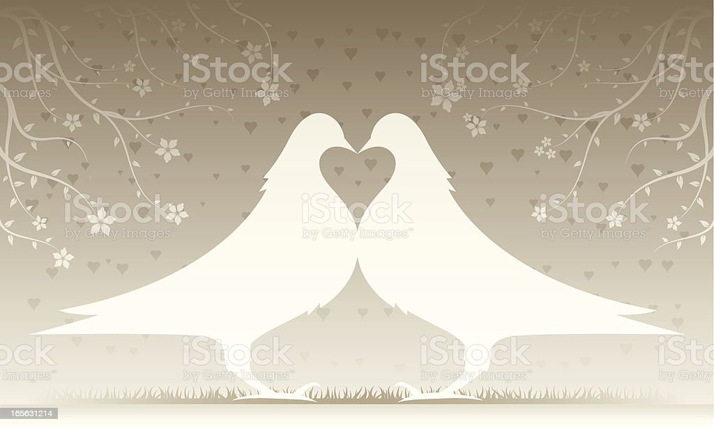 Doves In Love royalty-free doves in love stock vector art & more images of affectionate