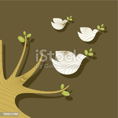 istock Doves of peace 165624495
