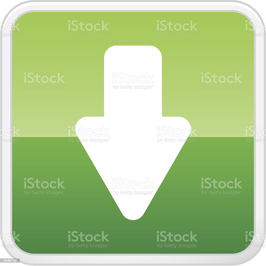 Download Button royalty-free download button stock vector art & more images of accessibility