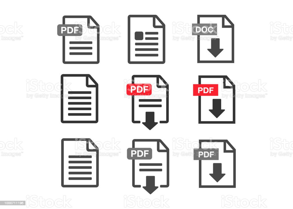 Pdf Download Icon File Download Icon Document Text Symbol Web Format