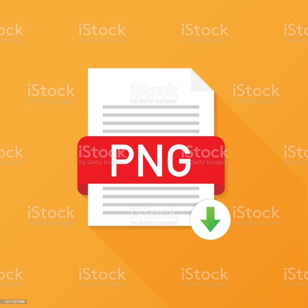 Download Png Button Downloading Document Concept File With