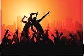 The party time series goes rock... as in live rock concert downtown. Grab a ticket and come enjoy the show!