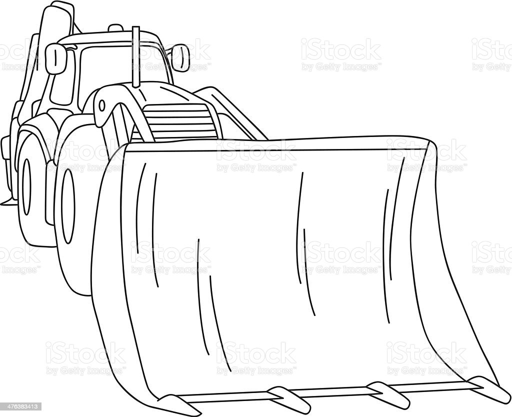dozer royalty-free dozer stock vector art & more images of agricultural machinery