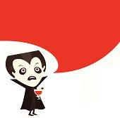 Dracula talk.
