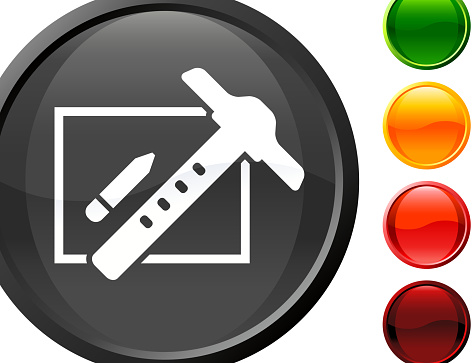 drafting board internet royalty free vector art