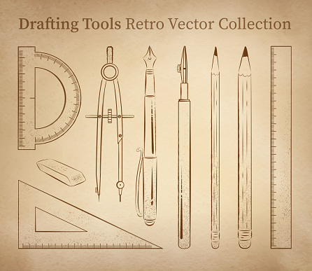Drafting tools.