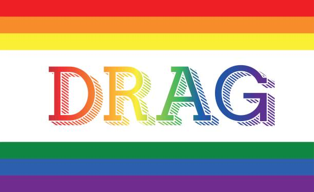stockillustraties, clipart, cartoons en iconen met drag - lgbt - drag queen