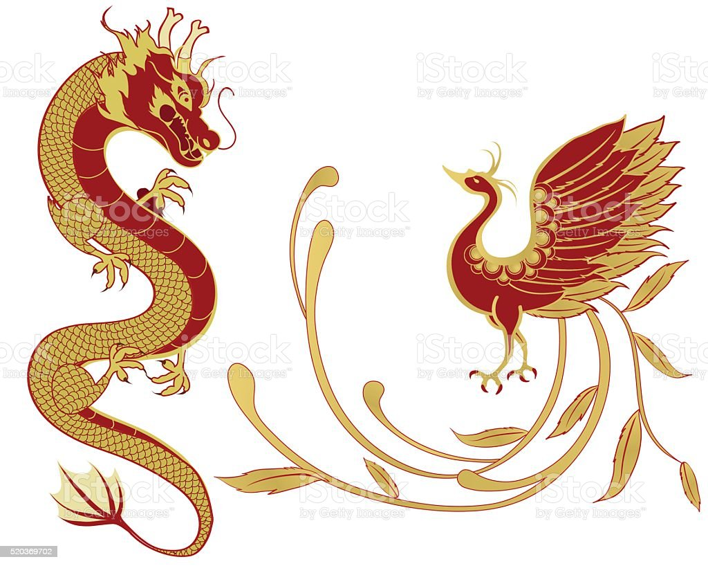 Dragon and phoenix for symbolism in traditional chinese wedding dragon and phoenix for symbolism in traditional chinese wedding royalty free dragon and phoenix for buycottarizona