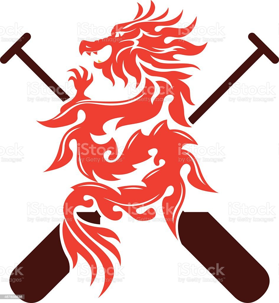 Dragon Boat Graphic Design Stock Vector Art & More Images ...