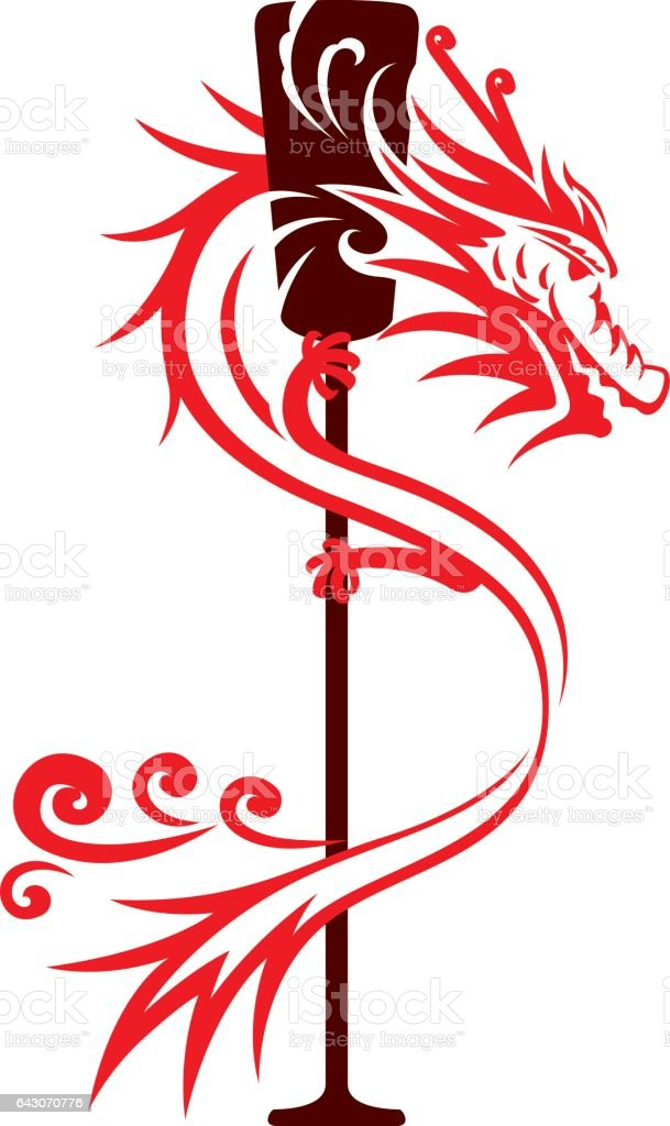 Dragon Boat Graphic Design Stock Vector Art & More Images of Abstract 643070776 | iStock