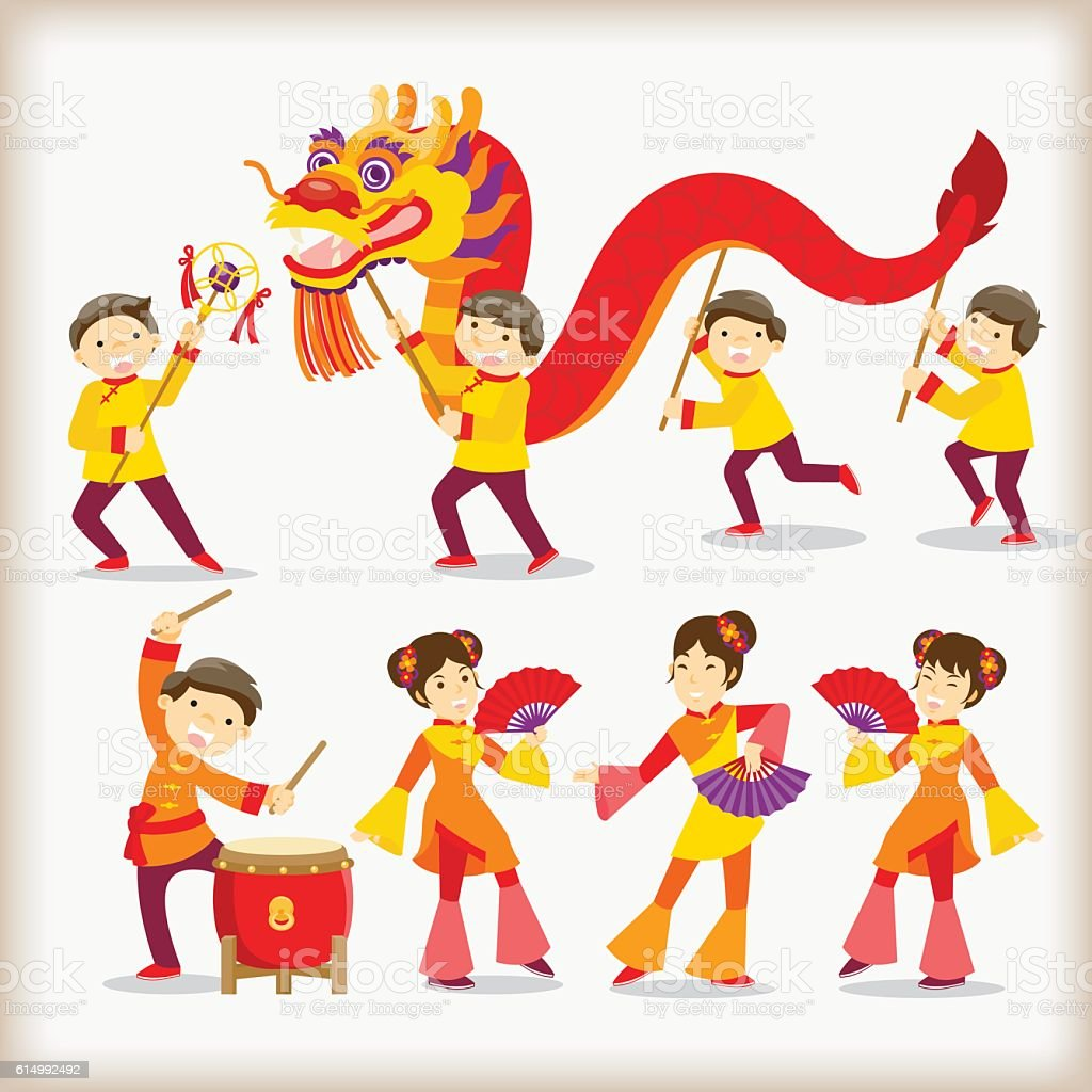 dragon dancechinese new year festival royalty free dragon dancechinese new year festival stock