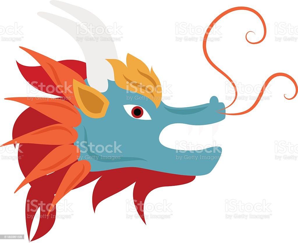 Tete De Dragon Chinois Vector Mascotte La Mythologie Monstre Vecteurs Libres De Droits Et Plus D Images Vectorielles De Animaux A L Etat Sauvage Istock