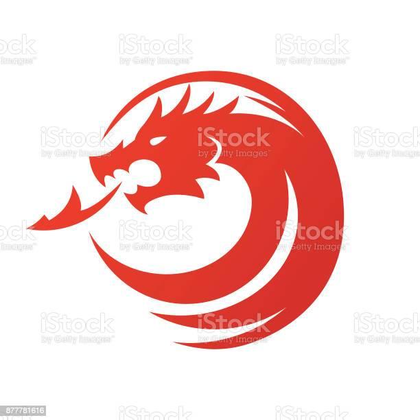 Dragon icon vector illustration vector id877781616?b=1&k=6&m=877781616&s=612x612&h=oip4gmutnk1mrsshadrcxr1xx7 cmfrqlbc2opz0l8s=