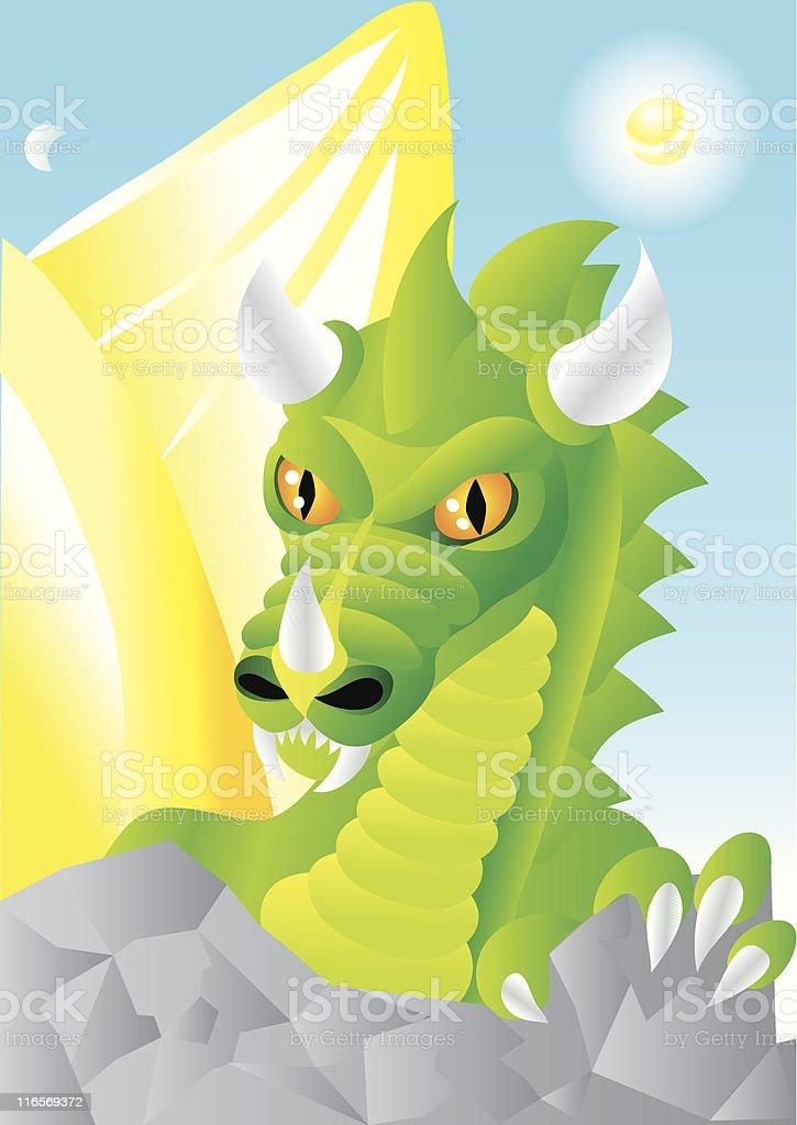 dragon royalty-free dragon stock vector art & more images of animal