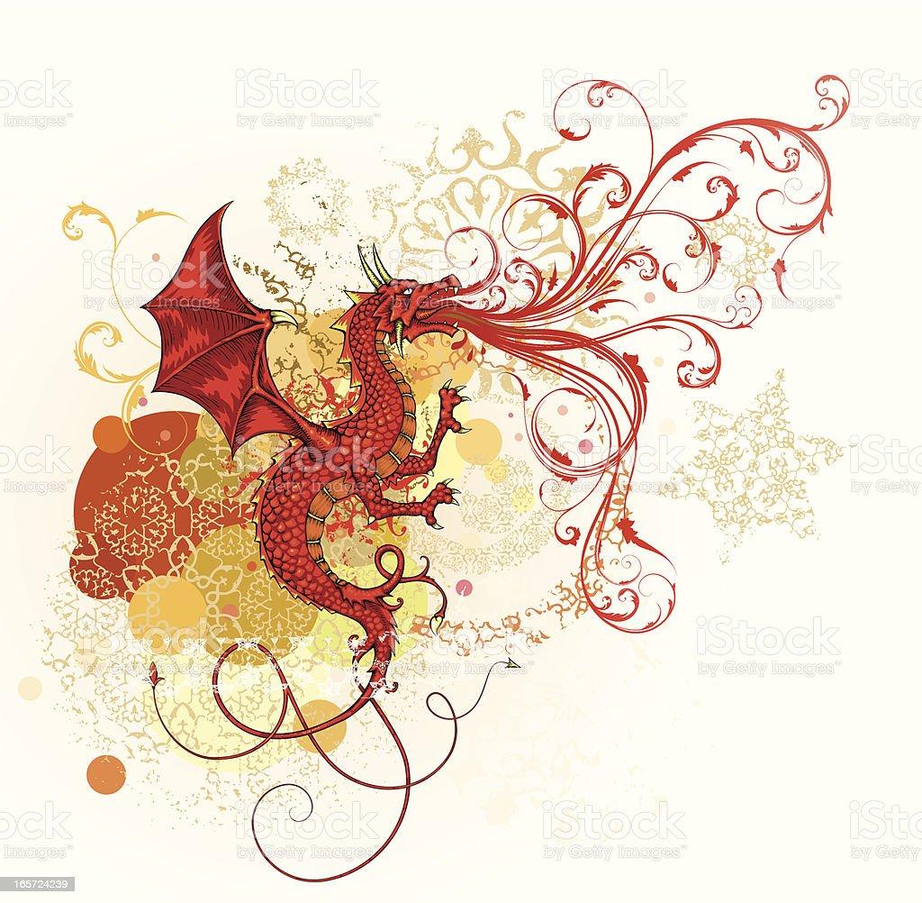 Dragon royalty-free stock vector art