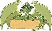 Illustration of dragon.