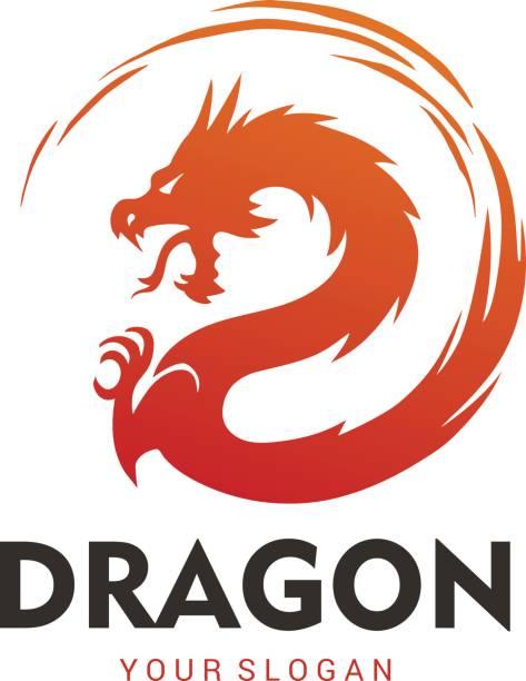 dragon - dragon stock illustrations, clip art, cartoons, & icons