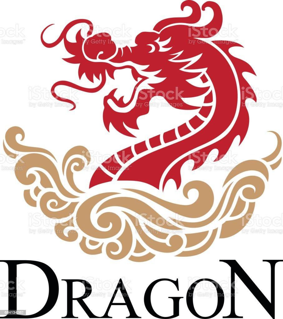 Dragon dragon - immagini vettoriali stock e altre immagini di animale royalty-free
