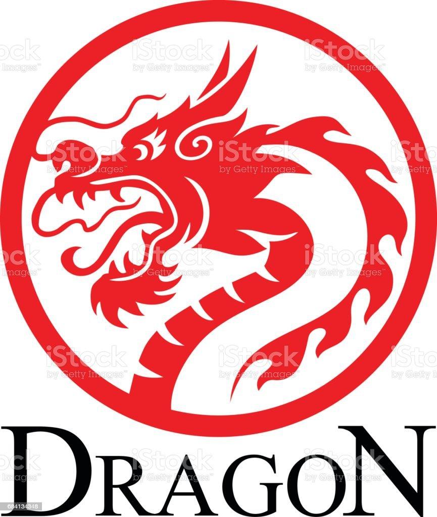 Dragon dragon - stockowe grafiki wektorowe i więcej obrazów chinese water dragon royalty-free