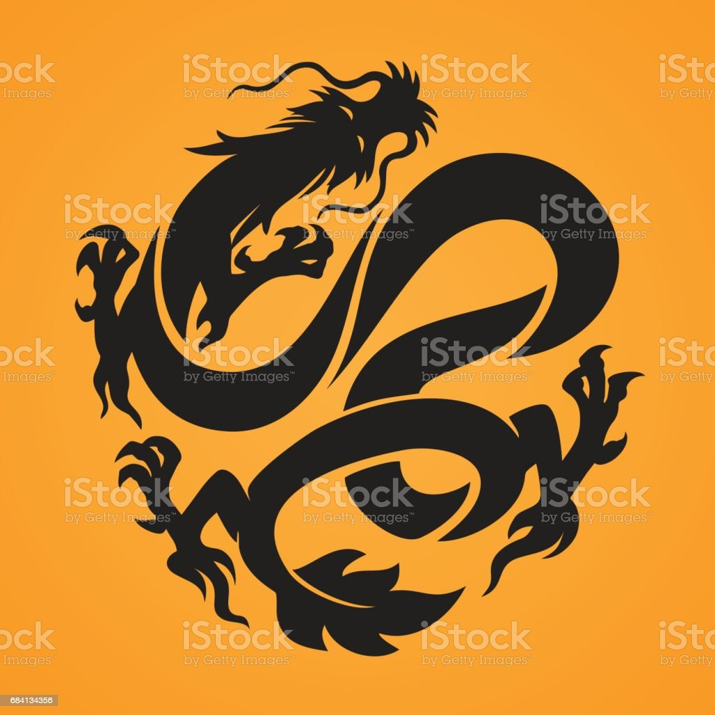 Dragon royalty-free dragon stock vector art & more images of animal