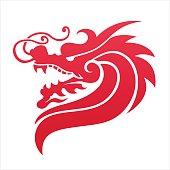 dragon icon, symbol