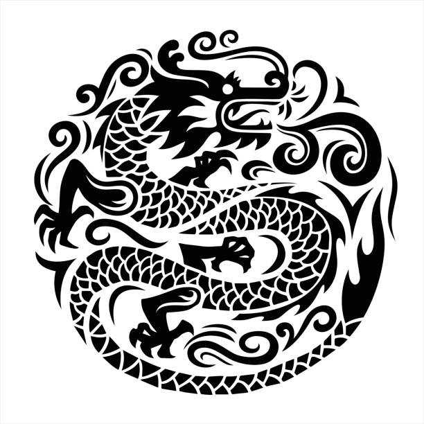 Dragon  – Vektorgrafik