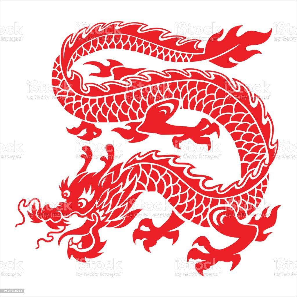 royalty free chinese dragon vector clip art vector images rh istockphoto com dragon vector art dragon vector image