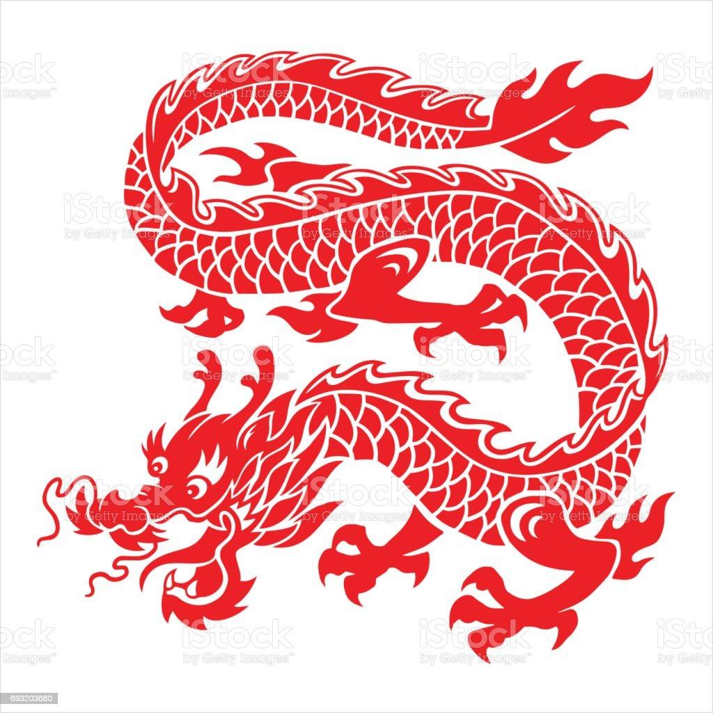 Dragon   ベクターアートイラスト