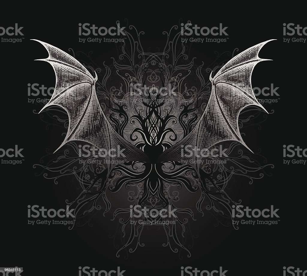 Dragon wings royalty-free dragon wings stock vector art & more images of animal body part