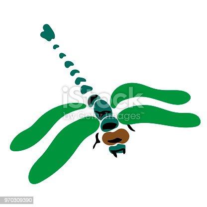 Ilustración de Ilustración De Vector Plano Esp 10 Insectos De Simple ...